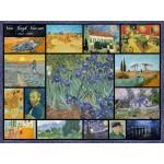 Grafika-00837 Collage - Vincent Van Gogh