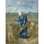 Grafika-00849 Vincent Van Gogh: Femme Paysan d'après Millet