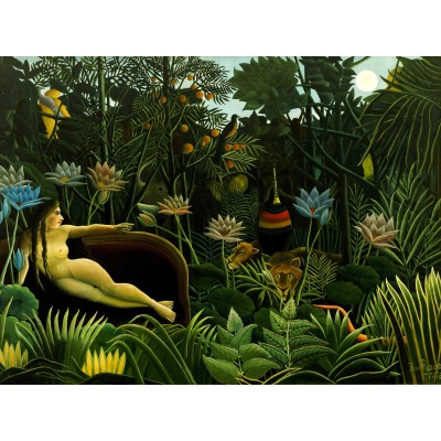 Grafika-00851 Henri Rousseau : The Dream, 1910