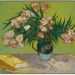 Grafika-00864 Van Gogh Vincent : Lauriers Roses,1888