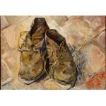 Grafika-00865 Van Gogh Vincent : Chaussures, 1888
