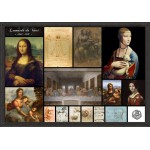 Grafika-00871 Léonard de Vinci - Collage