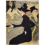 Grafika-00883 Henri de Toulouse-Lautrec: Divan Japonais, 1892-1893