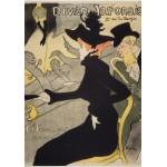 Grafika-00884 Henri de Toulouse-Lautrec: Divan Japonais, 1892-1893