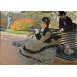 Grafika-00885 Claude Monet: Camille Monet, 1873