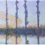 Grafika-00887 Claude Monet: Les Quatre Arbres, 1891