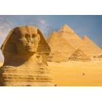 Grafika-01080 Sphinx et Pyramides de Gizeh