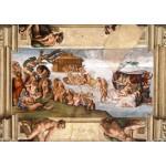Grafika-01116 Michel Ange : Chapelle Sixtine (détail), 1509