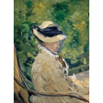 Grafika-01128 Edouard Manet : Madame Manet à Bellevue, 1880