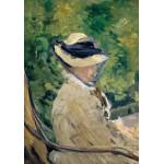 Grafika-01129 Edouard Manet : Madame Manet à Bellevue, 1880