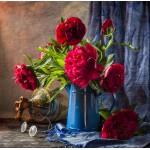Grafika-01133 Pivoines Roses