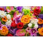 Grafika-01134 Bouquet de Fleurs Artificielles