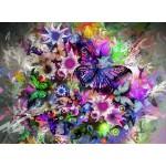 Grafika-01136 Fleurs et Papillons