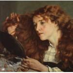 Grafika-01156 Gustave Courbet: Jo, La Belle Irlandaise, 1866