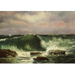 Grafika-01157 Gustave Courbet: La Vague, 1870