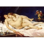 Grafika-01159 Gustave Courbet: Le Sommeil, 1866