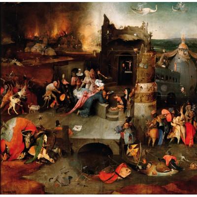 Grafika-01165 Bosch : La Tentation de Saint Antoine, 1495-1515