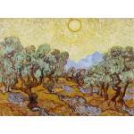 Grafika-01173 Vincent Van Gogh : Les Oliviers, 1889