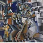 Grafika-01179 Kasimir Malevich: The Knifegrinder, 1912-13