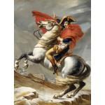 Grafika-01186 Jacques-Louis David: Bonaparte franchissant le Grand Saint-Bernard, 20 mai 1800