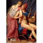 Grafika-01193 Jacques-Louis David: L'amour d'Hélène et Paris (détail), 1788