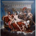 Grafika-01194 Jacques-Louis David: Mars désarmé par Vénus, 1824
