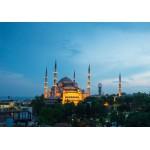 Grafika-01209 Mosquée Bleue, Turquie