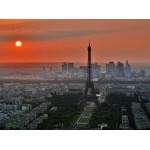 Grafika-01232 Coucher de Soleil sur Paris