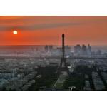 Grafika-01233 Coucher de Soleil sur Paris