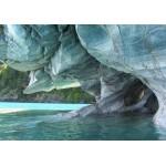 Grafika-01275 Grotte de Marbre Bleu, Chili