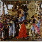 Grafika-01281 Sandro Botticelli: Adoration of the Magi (Zanobi Altar), 1475