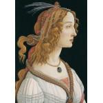 Grafika-01283 Sandro Botticelli: Portrait de Jeune Femme, 1494