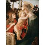 Grafika-01287 Sandro Botticelli: La Vierge à l'Enfant, le Jeune Saint Jean-Baptiste, 1470-1475