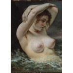 Grafika-01289 Gustave Courbet: La Femme dans les Vagues, 1868