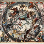 Grafika-01290 Andreas Cellarius: Southern Hemisphere Constellations, 1661