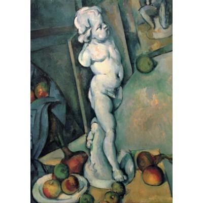 Grafika-01292 Paul Cézanne: Nature Morte au Cupidon de Plâtre, 1895