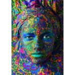 Grafika-01299 Face Art : Portrait de Femme