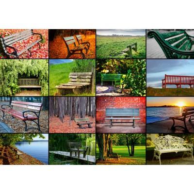 Grafika-01371 Collage - Bancs