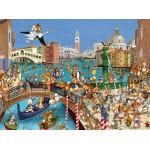 Grafika-01442 François Ruyer : Les Lapins à Venise