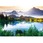 Grafika-01467 La Montagne derrière le Lac
