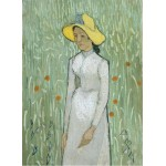 Grafika-01515 Vincent Van Gogh - Girl in White, 1890