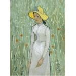 Grafika-01515 Vincent Van Gogh - Girl in White, 1890