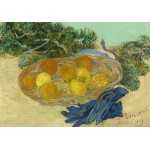 Grafika-01517 Vincent Van Gogh - Still Life of Oranges and Lemons with Blue Gloves, 1889