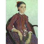 Grafika-01527 Vincent Van Gogh - La Mousmé, 1888