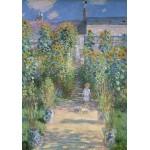 Grafika-01531 Claude Monet - Le Jardin de l'Artiste à Vétheuil, 1880