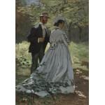 Grafika-01534 Claude Monet - Bazille et Camille, 1865