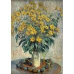 Grafika-01536 Claude Monet - Jérusalem Fleurs d'artichaut, 1880