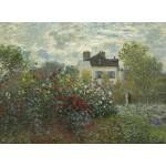 Grafika-01542 Claude Monet - Jardin de l'Artiste à Argenteuil, 1873