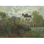 Grafika-01544 Claude Monet - Jardin de l'Artiste à Argenteuil, 1873