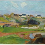 Grafika-01587 Paul Gauguin: Le Pouldu, 1890